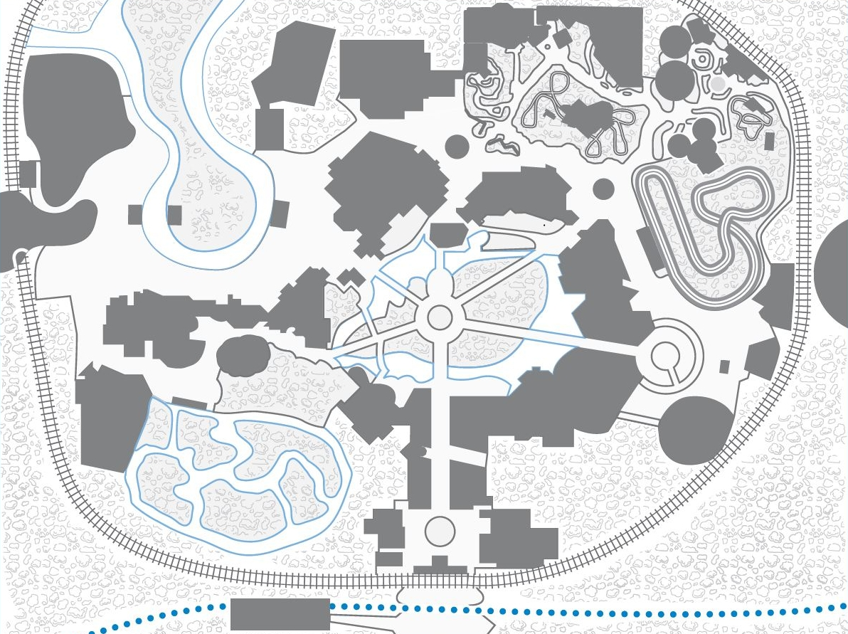 Magic kingdom one day touring plan for princess fans ages 4 to 8 mk map plan gumiabroncs Choice Image