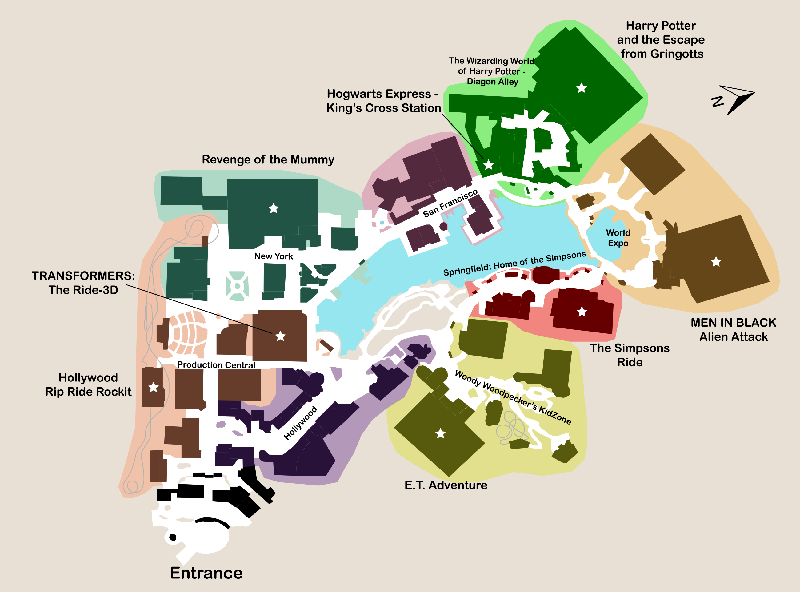 Uf map plan