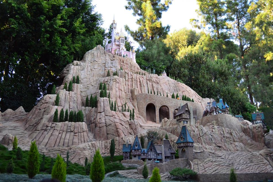 Storybook Land Canal Boats Disneyland