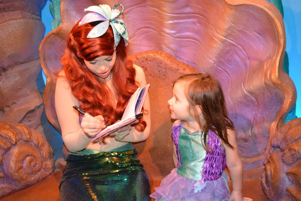 Meet ariel at her grotto magic kingdom mk25 00 m4hsunfo