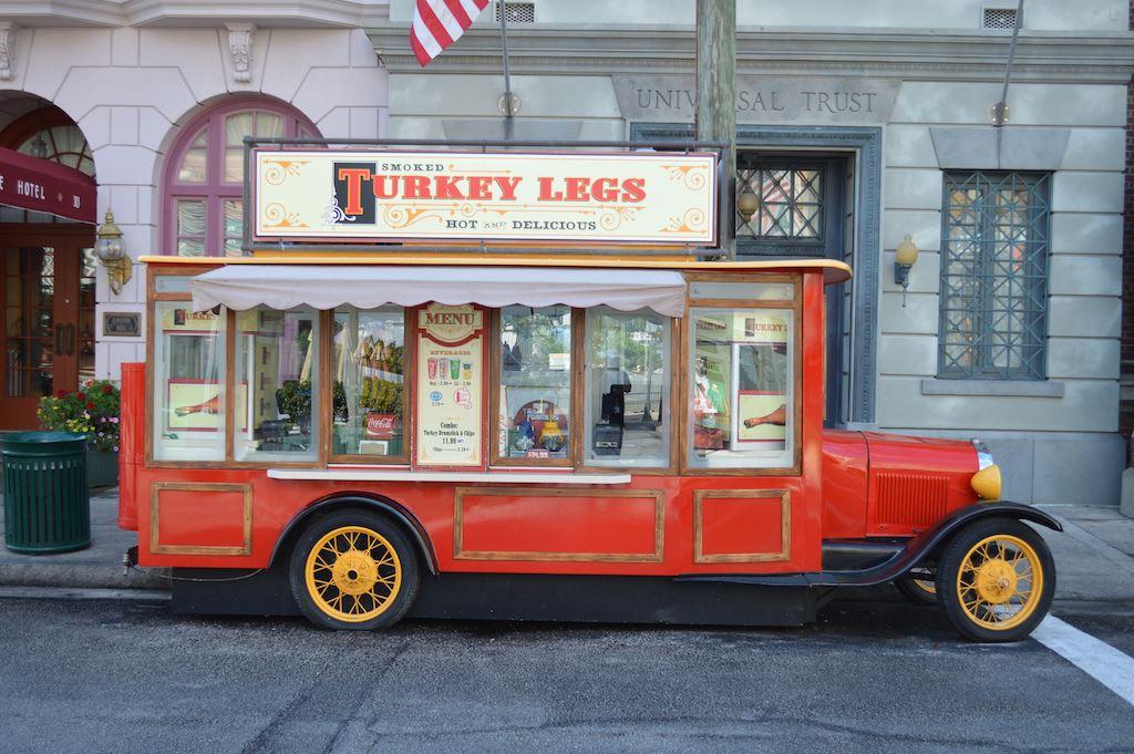 Smoked Turkey Legs Truck