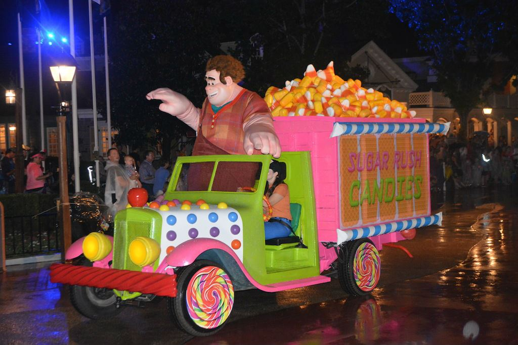 wreck it ralph at mickeys not so scary halloween party