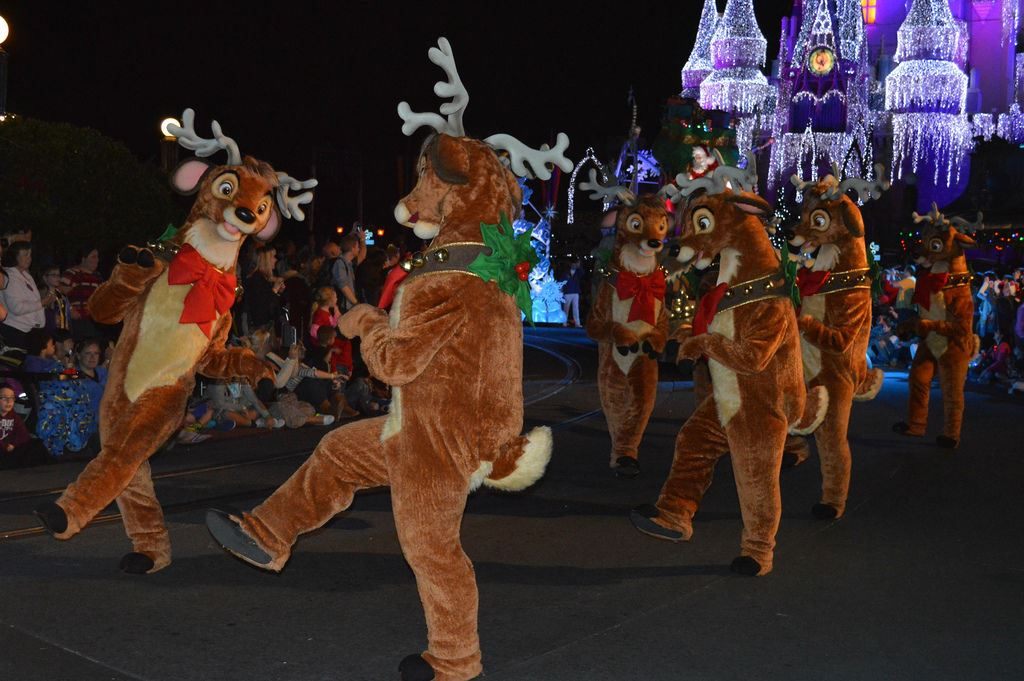 Parade at Mickey's Very Merry Christmas Party