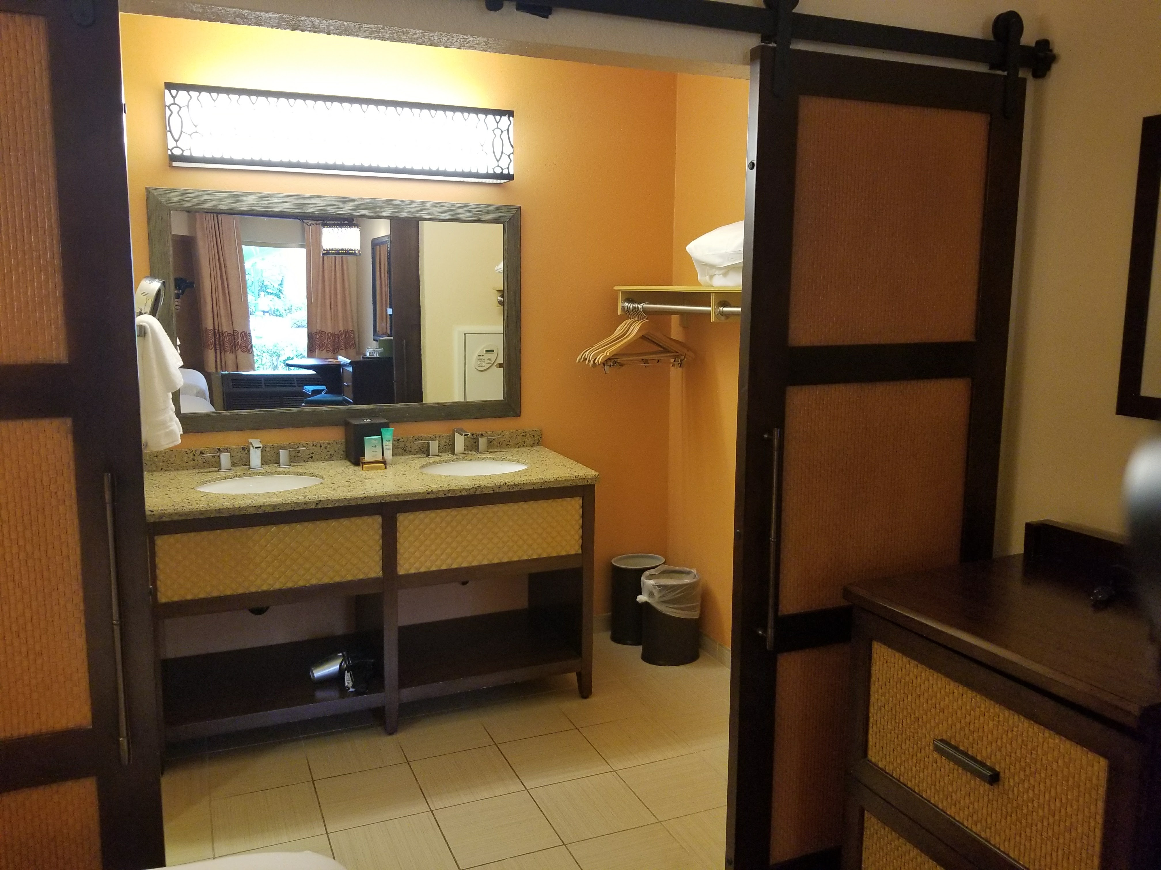 Dressing Area And Sink In Caribbean Beachs Rooms