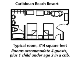 Disney\'s Caribbean Beach Resort