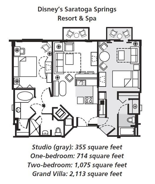 Saratoga Springs Two Bedroom Villa Floor Plan Meze Blog