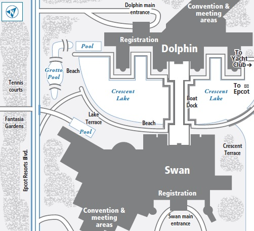Dolphin At Walt Disney World