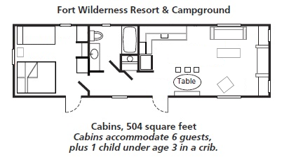 The Cabins at Disney\'s Fort Wilderness Resort