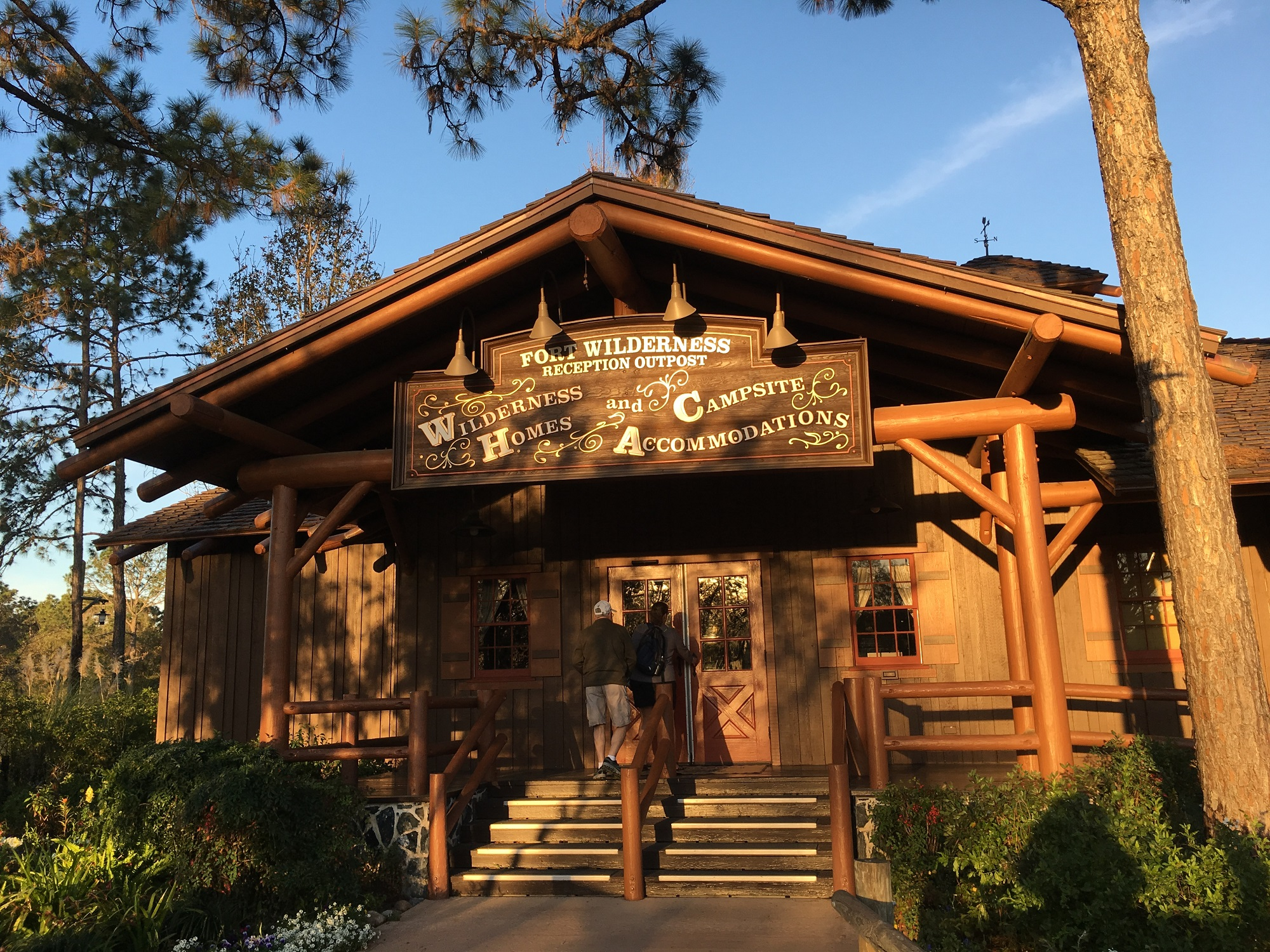Guests Check In At Fort Wilderness Reception Outpost, Or Use Online  Check In And Go Directly To Your Cabin.