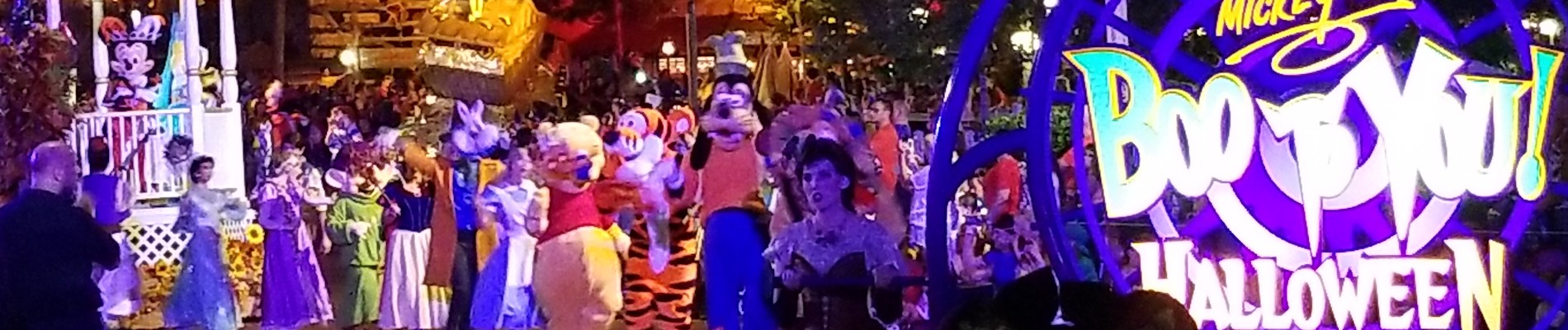 mickeys not so scary halloween party at disney world