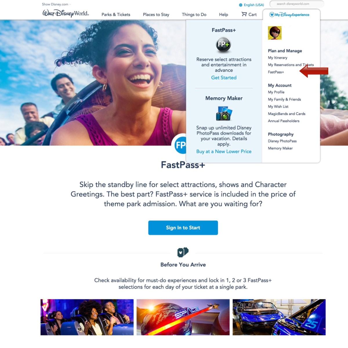 Making FastPass+ Reservations | Walt Disney World