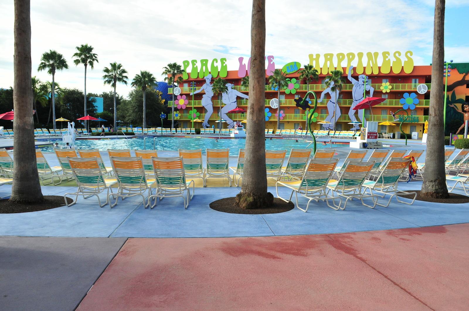 View of Disney\'s Pop Century Resort